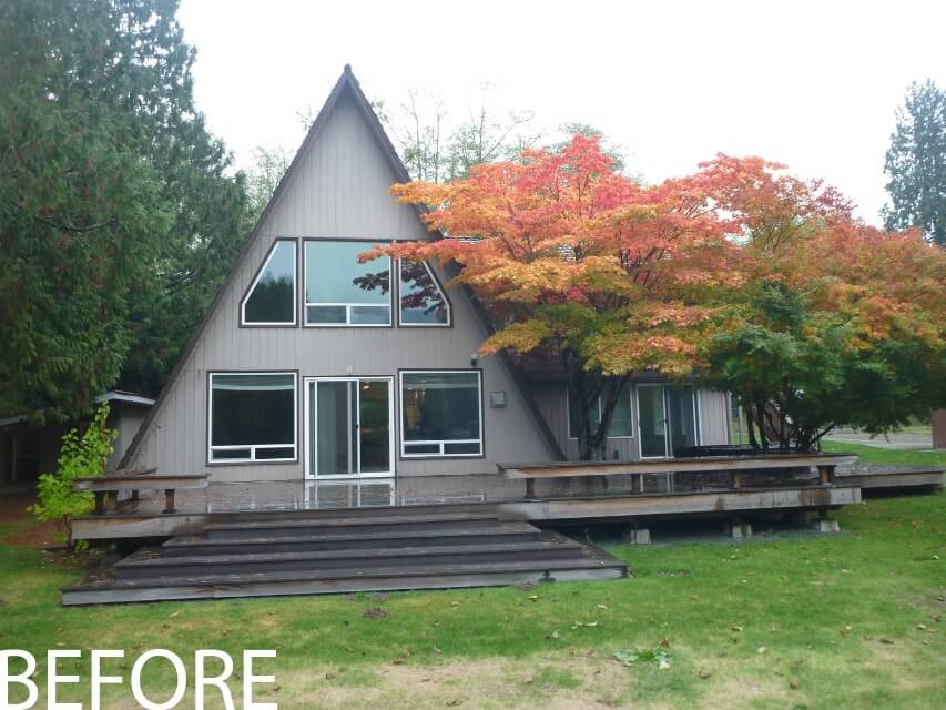 A Frame Remodel Stoner Architects Seattle Residential